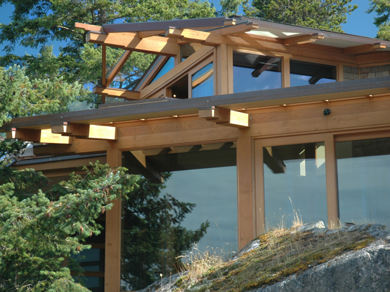 Unison Windows - Natural Waterfront Home
