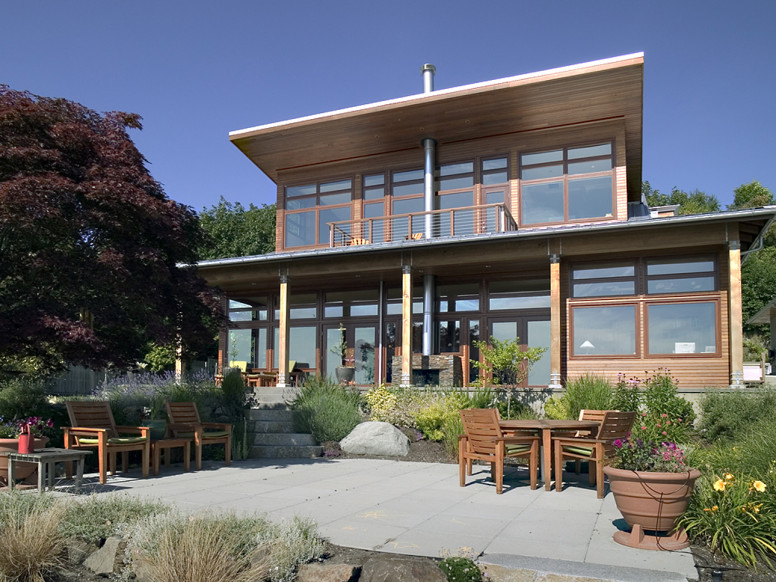 natural waterfront home unison windows